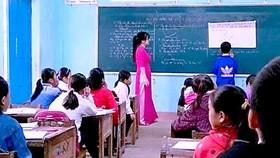 Những ngày đầu cô giáo Lê Minh Hiếu đứng lớp