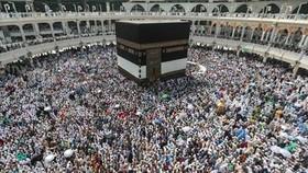 Mỗi năm hàng triệu người Hồi giáo hành hương đến thánh địa Mecca