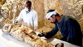 Phát hiện xác ướp Ai Cập 3.500 năm