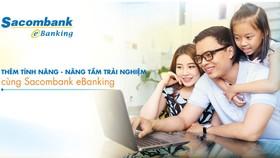 Sacombank eBanking thêm nhiều tính năng mới