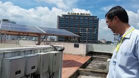 Hệ thống điện mặt trời trên mái nhà Công ty cổ phần Tư vấn xây dựng điện 3 (EVNPECC3)