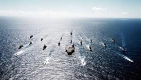 Hải quân Mỹ biểu dương lực lượng