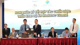 S.I bắt tay nhiều đối tác triển khai dự án Majestic Village