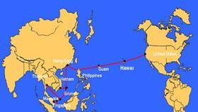 Đến 18-12, cáp quang biển quốc tế AAG mới được sửa xong