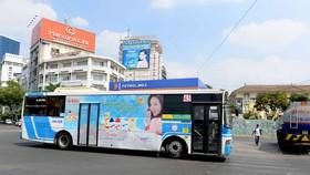 TPHCM: Thu 160 tỷ đồng từ quảng cáo trên thân xe buýt