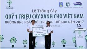 Trồng thêm 110.000 cây xanh cho cho thành phố Vũng Tàu