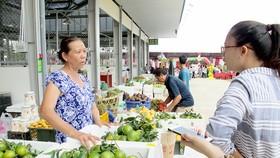 Chợ đầu mối nông sản thực phẩm Dầu Giây, tỉnh Đồng Nai, chính thức hoạt động từ tháng 6-2017