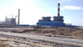 Một góc Trung tâm Điện lực Vĩnh Tân tỉnh Bình Thuận.