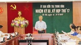 Đồng chí Trần Quốc Vượng chủ trì kỳ họp