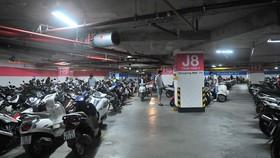 Không gian ngầm tầng 3 Saigon Center            Ảnh: THÀNH TRÍ