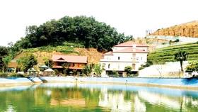 Khu dinh thự của gia đình ông Phạm Sỹ Quý, Giám đốc  Sở Tài nguyên - Môi trường tỉnh Yên Bái