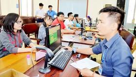 Thí sinh đăng ký xét tuyển vào Trường ĐH Sài Gòn năm 2016