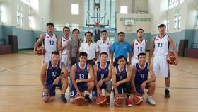 Đội tuyển bóng rổ nam. Ảnh: Gia Mẫn