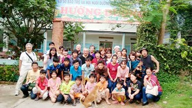 Thầy Vinh ấp ủ mong muốn mở rộng trường để nuôi dưỡng ước mơ cho nhiều học trò nghèo