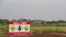 Khởi công xây dựng Dự án xử lý chất độc dioxin tại sân bay Biên Hòa