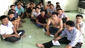 Bắt giữ 28 con bạc trong ngôi nhà mới tân gia ở tỉnh Bình Dương