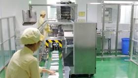 Một góc nhà máy TPCN có quy trình không sinh bụi, không tiếp xúc, hệ thống quản lý hiện đại của Savipharm.