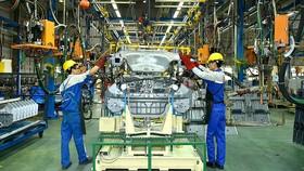 Dây chuyền sản xuất, lắp ráp ô tô tại Hyundai Thành Công
