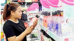 Thương hiệu mỹ phẩm ngoại chiếm ưu thế ở kênh bán lẻ hiện đại