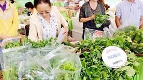 Sản phẩm rau củ quả hữu cơ được kinh doanh phổ biến tại thị trường TPHCM
