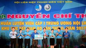 Khai mạc Trại huấn luyện Nguyễn Chí Thanh khu vực Tây Nam bộ