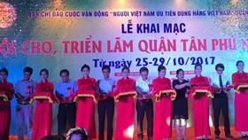 Hơn 120 gian hàng tại Hội chợ triển lãm quận Tân Phú
