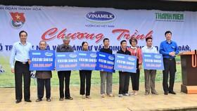Vinamilk: Hỗ trợ xây dựng 30 căn nhà cho người dân 3 tỉnh Yên Bái, Hòa Bình và Thanh Hóa