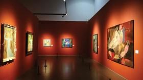 Gian trưng bày mỹ thuật Đương đại Việt Nam tại Bảo tàng Mỹ thuật Trung Quốc