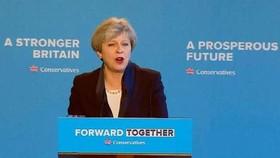圖為英國首相特蕾莎‧梅。(資料圖來源:互聯網)