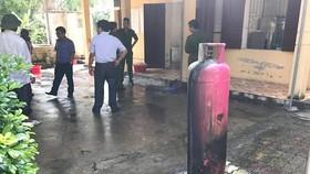 瓦斯洩漏 幼兒園學生緊急疏散