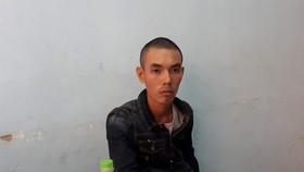 被捕的歹徒阮明輝。(圖源:互聯網)