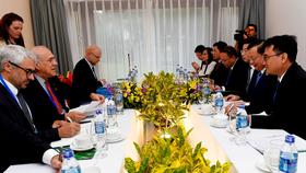Bộ trưởng Tài chính Đinh Tiến Dũng tiếp Tổng Thư ký OECD và Phó Tổng Giám đốc Điều hành IMF