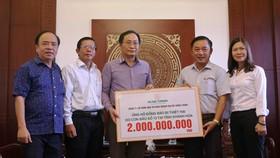 Công ty Hưng Thịnh hỗ trợ Khánh Hòa 2 tỷ đồng