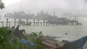 Áp thấp đang mạnh lên thành bão hướng vào biển Đông