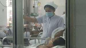 A/H1N1 patients at Cho Ray Hospital in stable condition