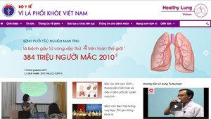 "Health ministry launches ""Healthy Lung"" portal"