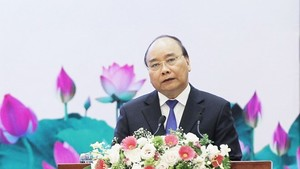 Prime Minister Nguyen Xuan Phuc at the even ( Source : VNA)