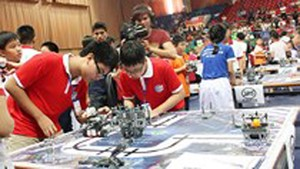Robothon festival held in HCMC