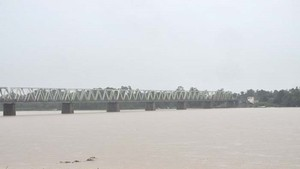 River water in Quang Ngai rises (Photo: SGGP)