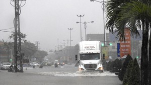 High rainfall pours Da Nang city