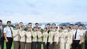 Bamboo Airways' crew uniform