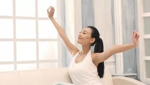 為了健康,讓我們早睡早起,貴在堅持。(示意圖源:互聯網)
