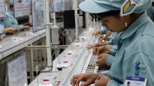 注入電子領域的FDI資金保持高位。
