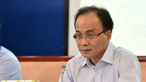 政府辦公廳原副主任黎孟河。(圖源:光峰)
