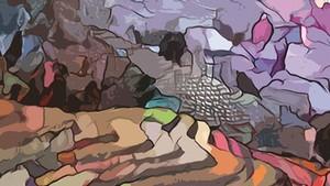 裴氏明幸的《沙巴》畫作。
