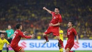 輝雄為越南隊領先1比0。(圖源:互聯網)