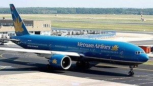An aircraft of Vietnam Airlines