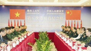 Overview of the talks (Photo: VNA)