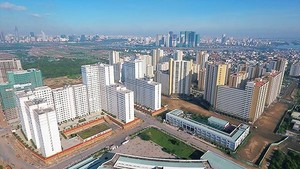 Thu Thiem new urban area (Photo: SGGP)