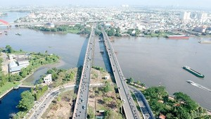 Binh Trieu bridge in HCMC northeast gateway (Photo: SGGP)